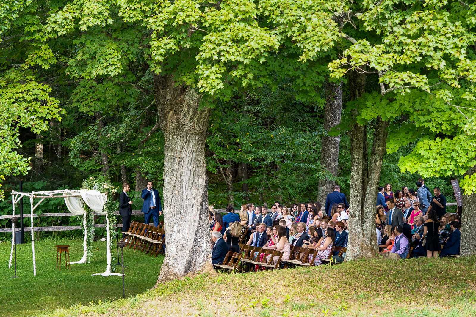 Outdoor Ceremony location Grafton Inn