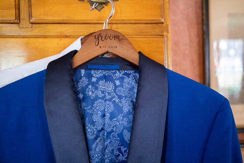 Groom Formal Blue Tuxedo