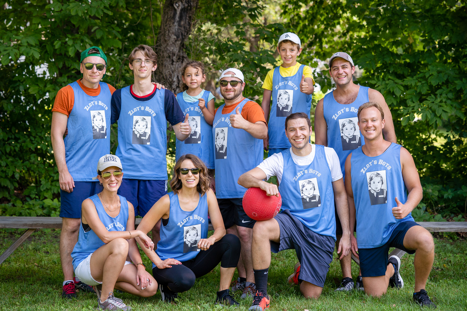 Grooms kickball team