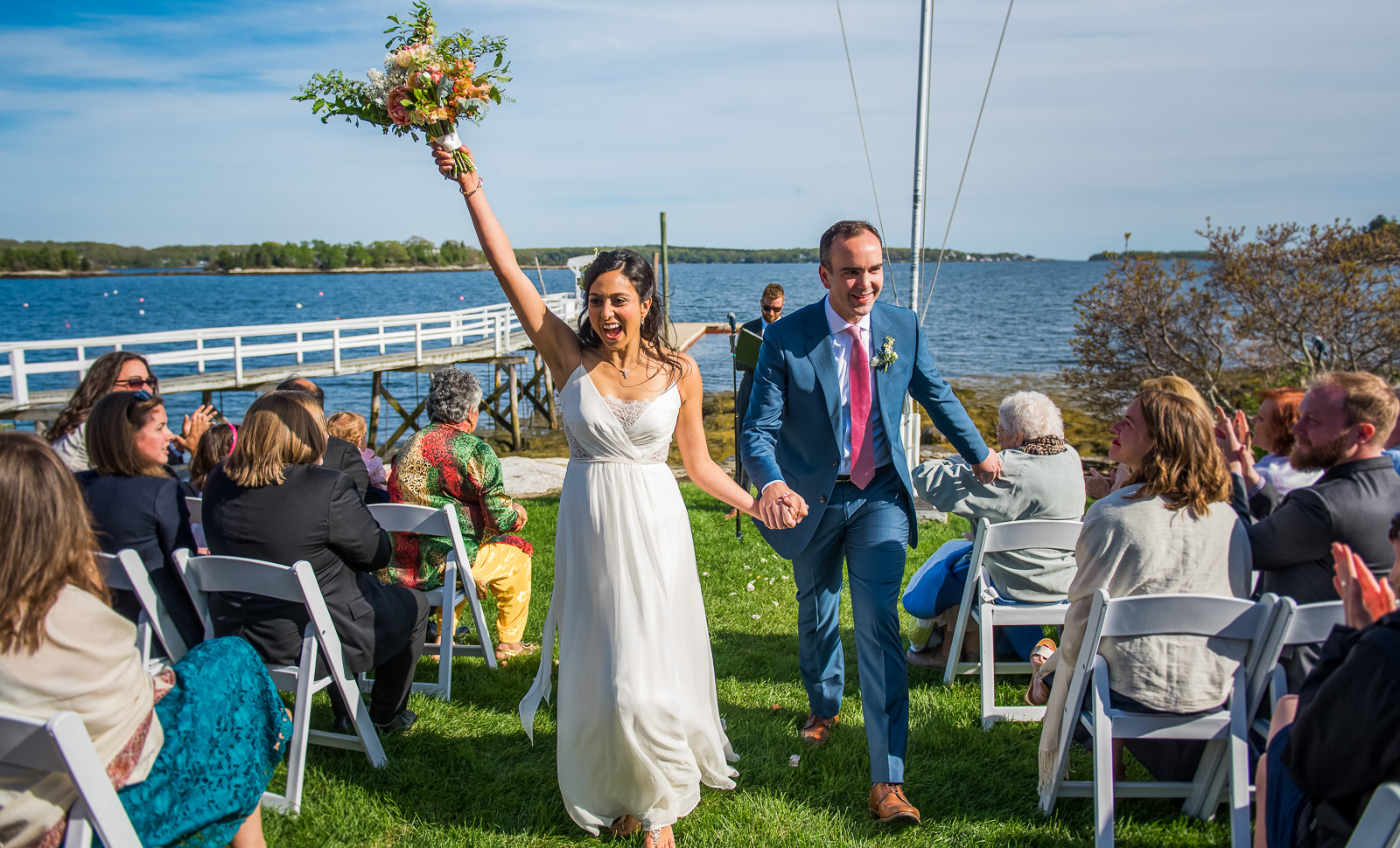 Linekin Bay Resort Wedding ceremony
